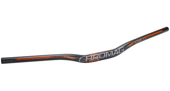 Chromag Fubars OSX 35 Lenker 800 mm schwarz/orange